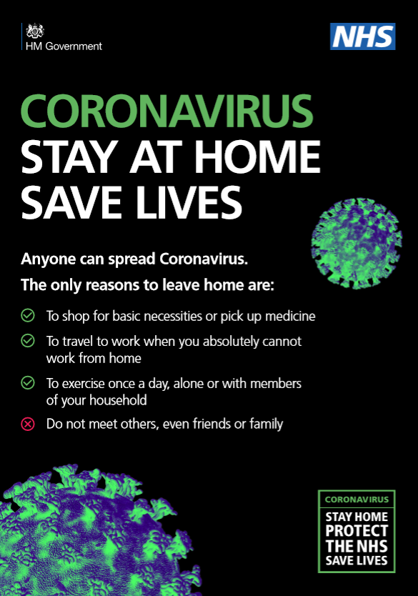 Stay At Home Saves Lives