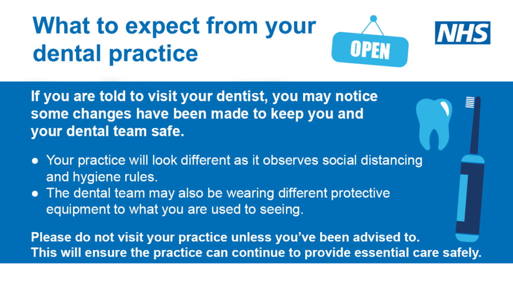 What to expect from your dental practice